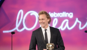 Presenter Tom Hiddleston