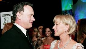 Helen Mirren with Tom Hanks