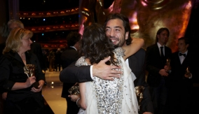 Bardem with Marion Cotillard