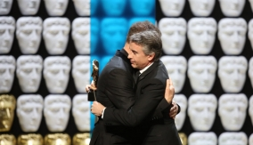 Steve Coogan embraces Jeff Pope