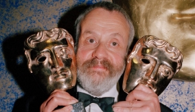 Writer and director Mike Leigh