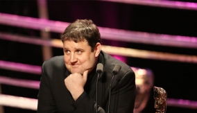 Peter Kay at the Podium