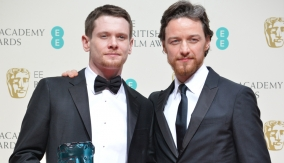 O'Connell with James McAvoy