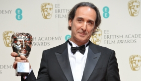 Alexandre Desplat backstage