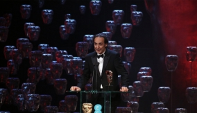 Alexandre Desplat at the podium