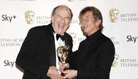 Paul Watson with John Hurt