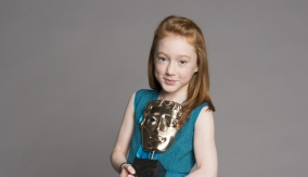 Cherry Campbell with her BAFTA