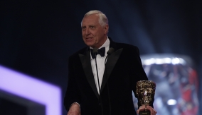 Peter Greenaway at the Podium