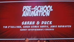 Sarah & Duck wins the award