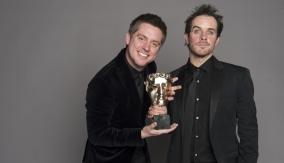 Dick & Dom backstage