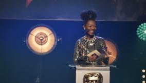 Floella Benjamin presents the award