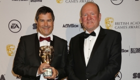 Braben with Ian Livingstone