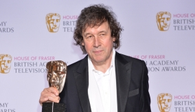 Stephen Rea backstage