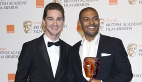Shia LaBeouf with Noel Clarke