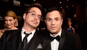 With Robert Downey Jr.