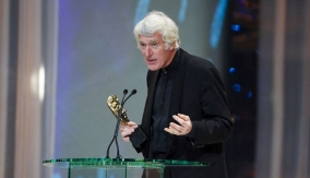 Roger Deakins at the Podium