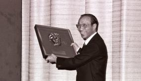 Run Run Shaw in 1978