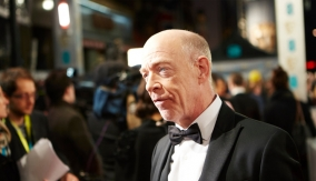 J.K. Simmons on the red carpet
