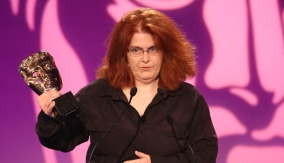 Sally Wainwright at the Podium
