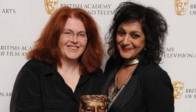 Wainwright with Meera Syal