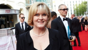 Sarah Lancashire on the red carpet