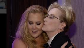 Schumer with fellow honoree Meryl Streep