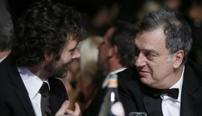 Frears with Michael Sheen