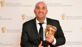 Shane Meadows backstage