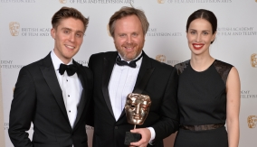 With Heida Reed and Jack Farthing