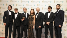 The Skyfall team in  Press Room
