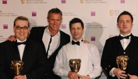 The winners with Mark Foster