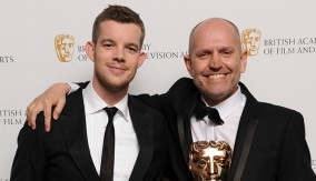 Whitnall with Russell Tovey