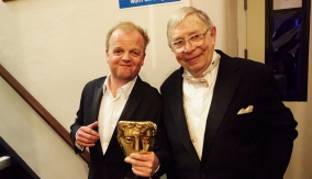 Toby Jones and Neil Baldwin