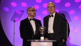 Stanley Tucci & Jim Broadbent present the award