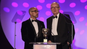 Stanley Tucci & Jim Broadbent present the award