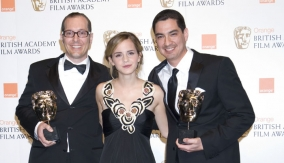 The winners with Emma Watson