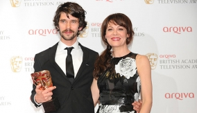Whishaw with Helen McCrory