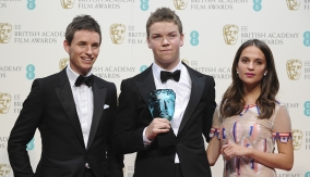 Will Poulter and the presenters