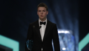 Will Poulter at the Podium