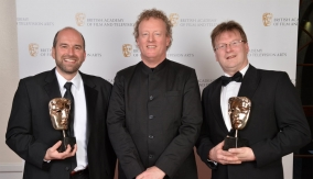 With Howard Goodall