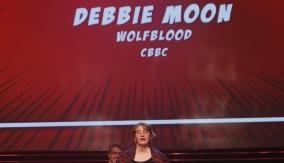 Debbie Moon at the podium