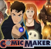 Doctor Who Comic Maker