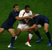 Rugby World Cup 2007: England V France Semi-Final