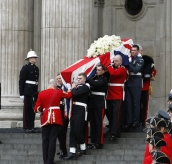 The Funeral of Baroness Thatcher