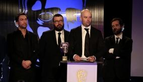 Rockstar Games at the podium