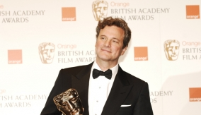 Colin Firth in the Press Room
