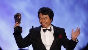 Miyamoto at the Podium