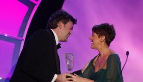 David Tyler accepts the award