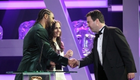 Accepting the Award