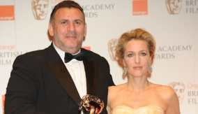 Graham King & Gillian Anderson